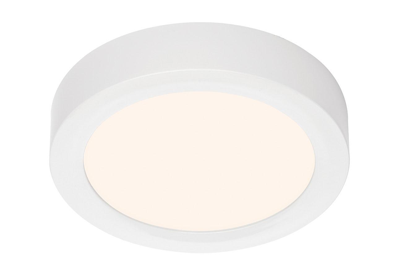 TELEFUNKEN Smart LED Aufbauleuchte, Ø 22,5 cm, 18 W, Weiß