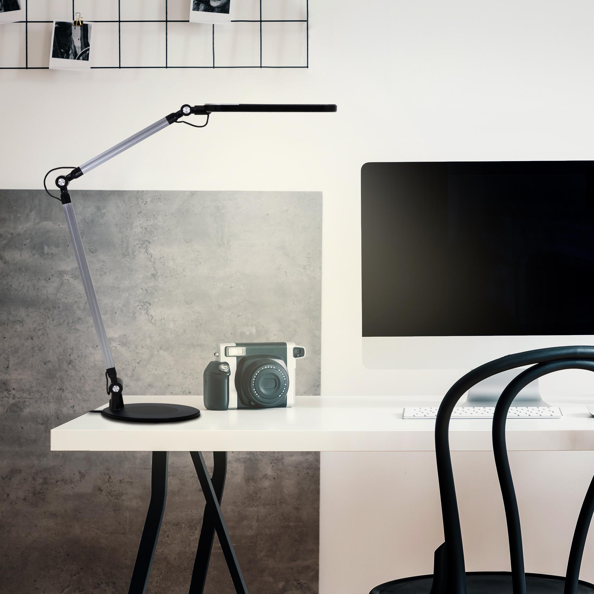 CCT LED Tischleuchte Schwarz