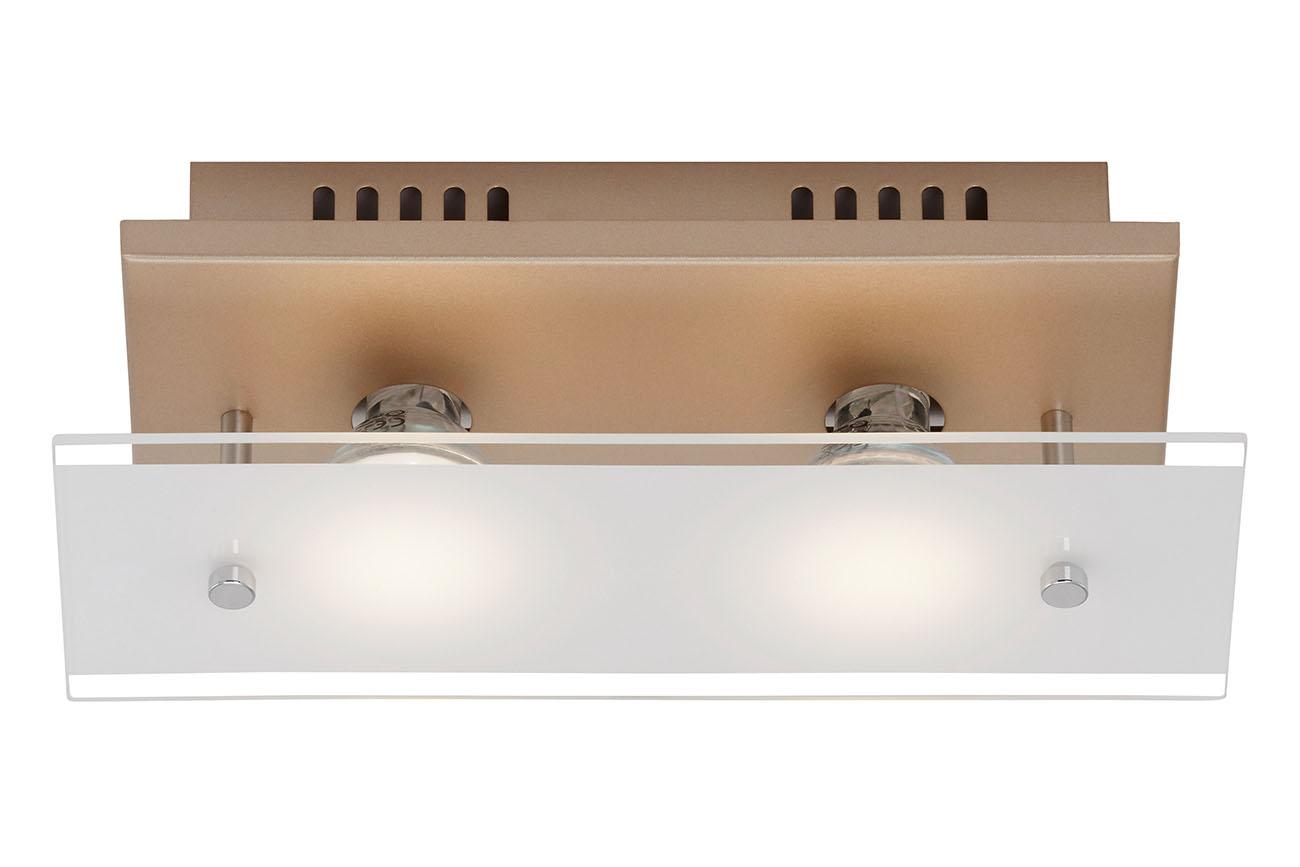 LED Deckenleuchte, 27 cm, 8 W, Gold