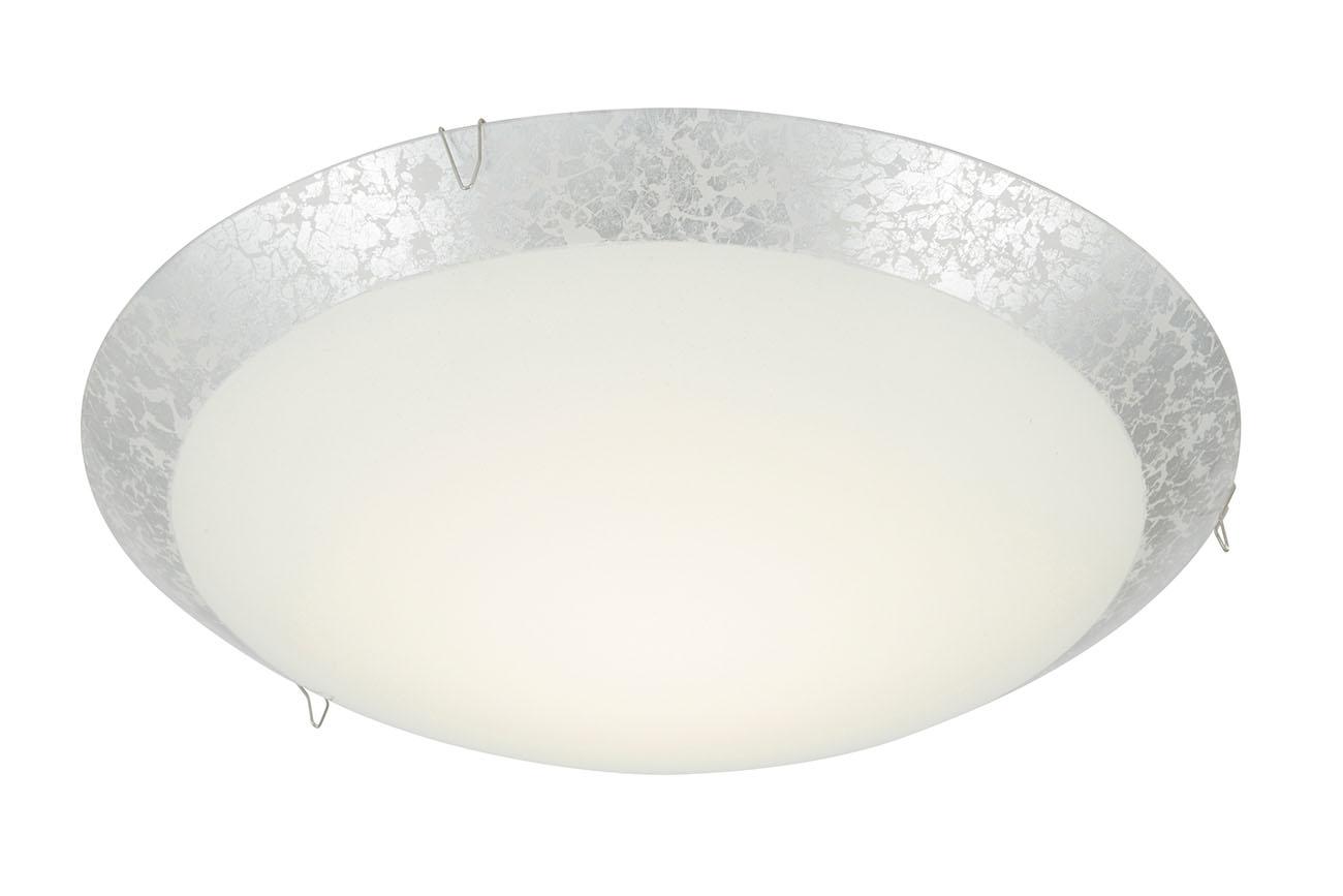 LED Deckenleuchte, Ø 30 cm, 8,4 W, Silber