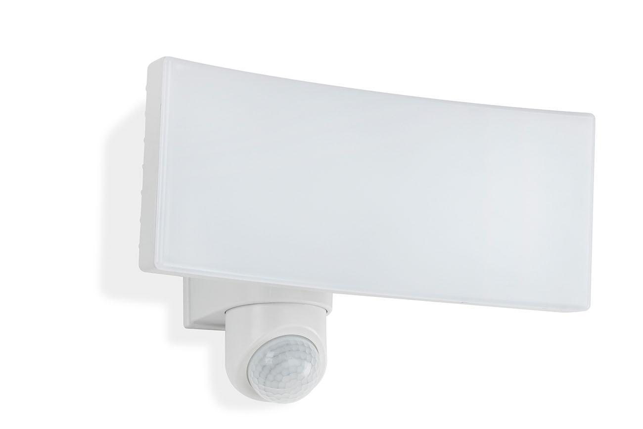 TELEFUNKEN LED Sensor Außenstrahler, 27,6 cm, 30 W, Weiß
