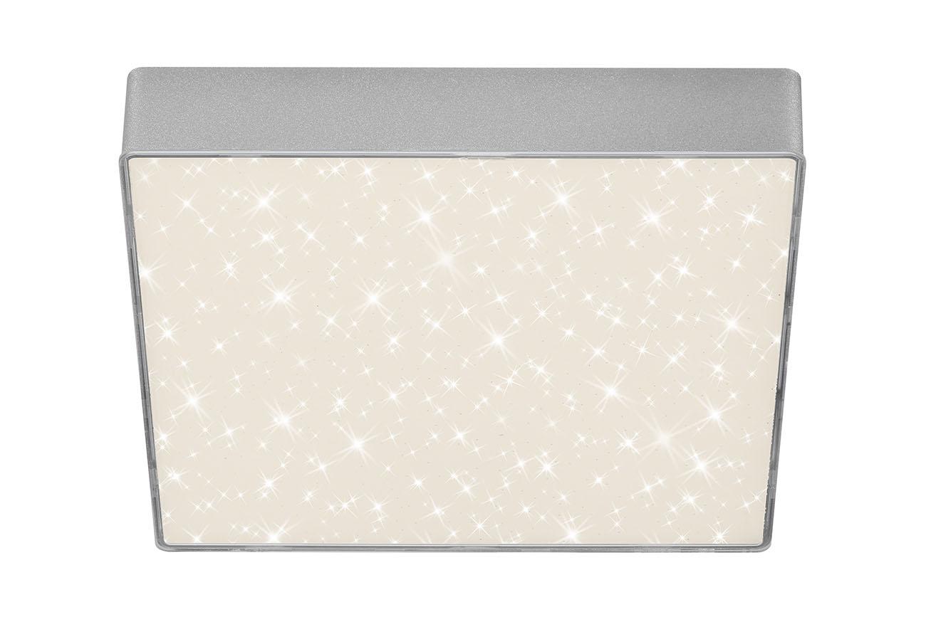 STERNENHIMMEL LED Deckenleuchte, 21,2 cm, 16 W, Silber