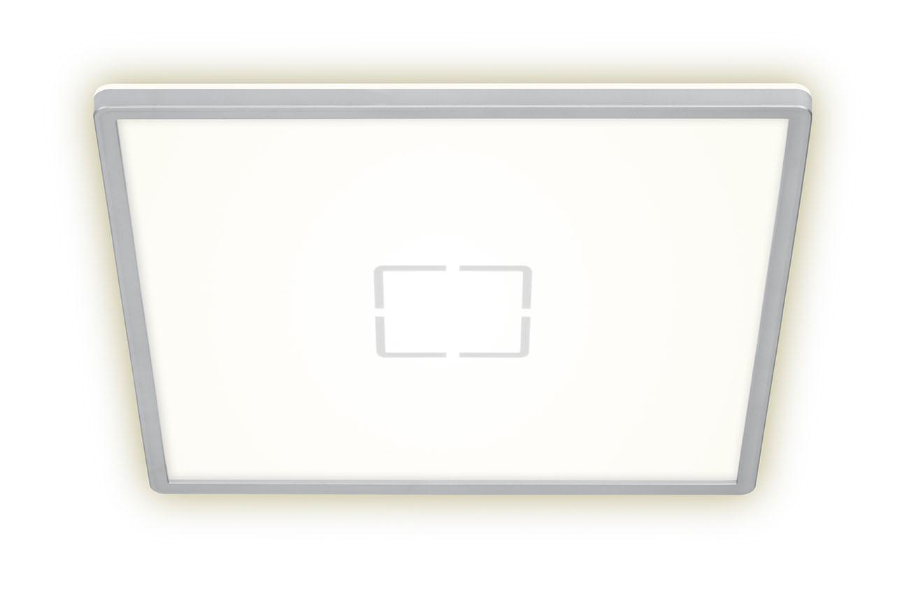 Slim LED Panel, 42 cm, 3000 LUMEN, 22 WATT, Silber