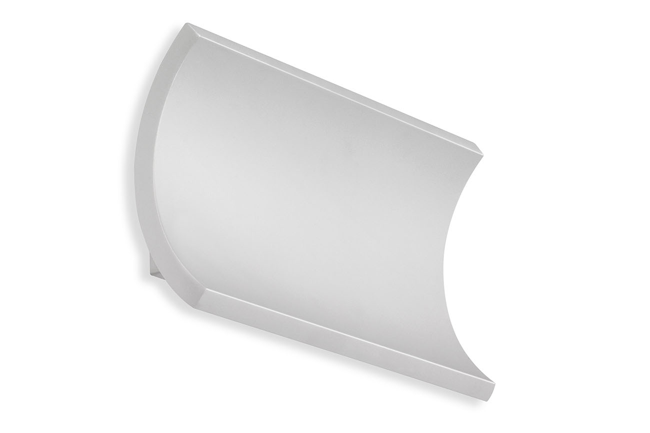 TELEFUNKEN LED Aussenwandleuchte, 19,7 cm, 12 W, Silber