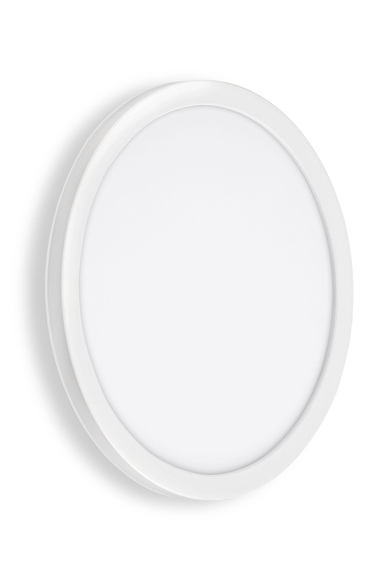 TELEFUNKEN LED Aussenwandleuchte, Ø 28 cm, 15 W, Weiss