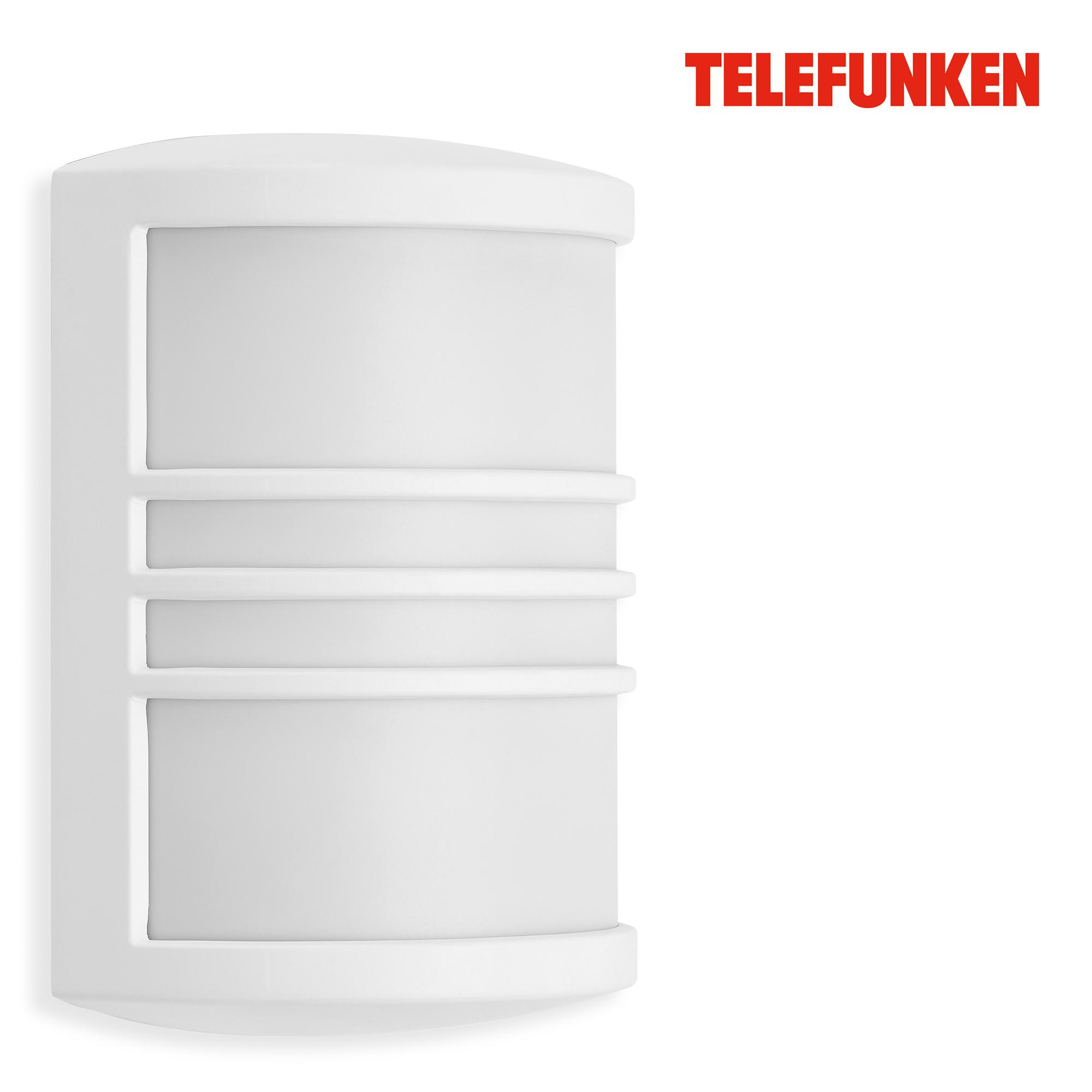 TELEFUNKEN LED Außenwandleuchte Weiß