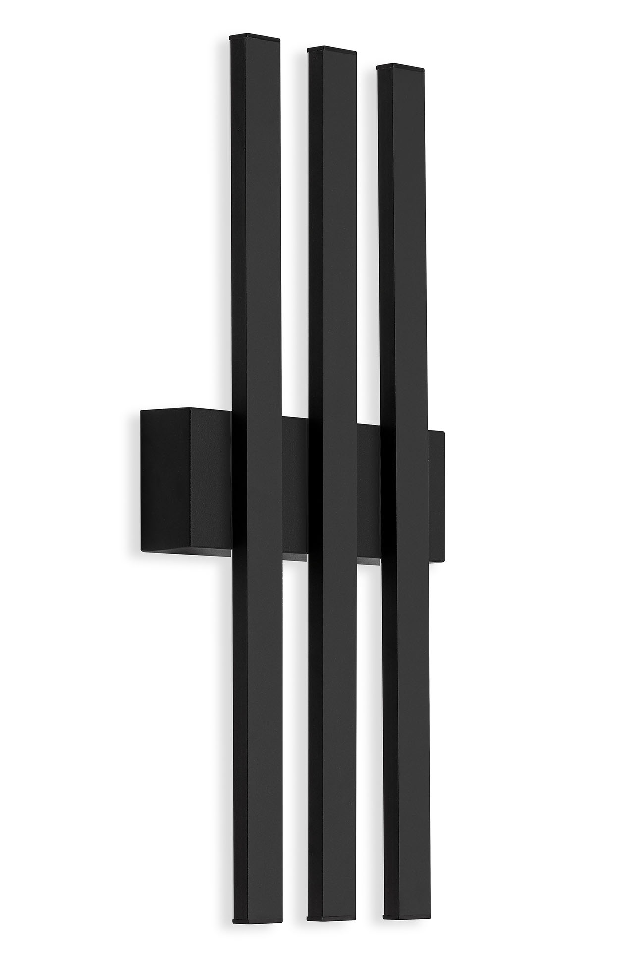 TELEFUNKEN LED Aussenwandleuchte, 37 cm, 12 W, Schwarz