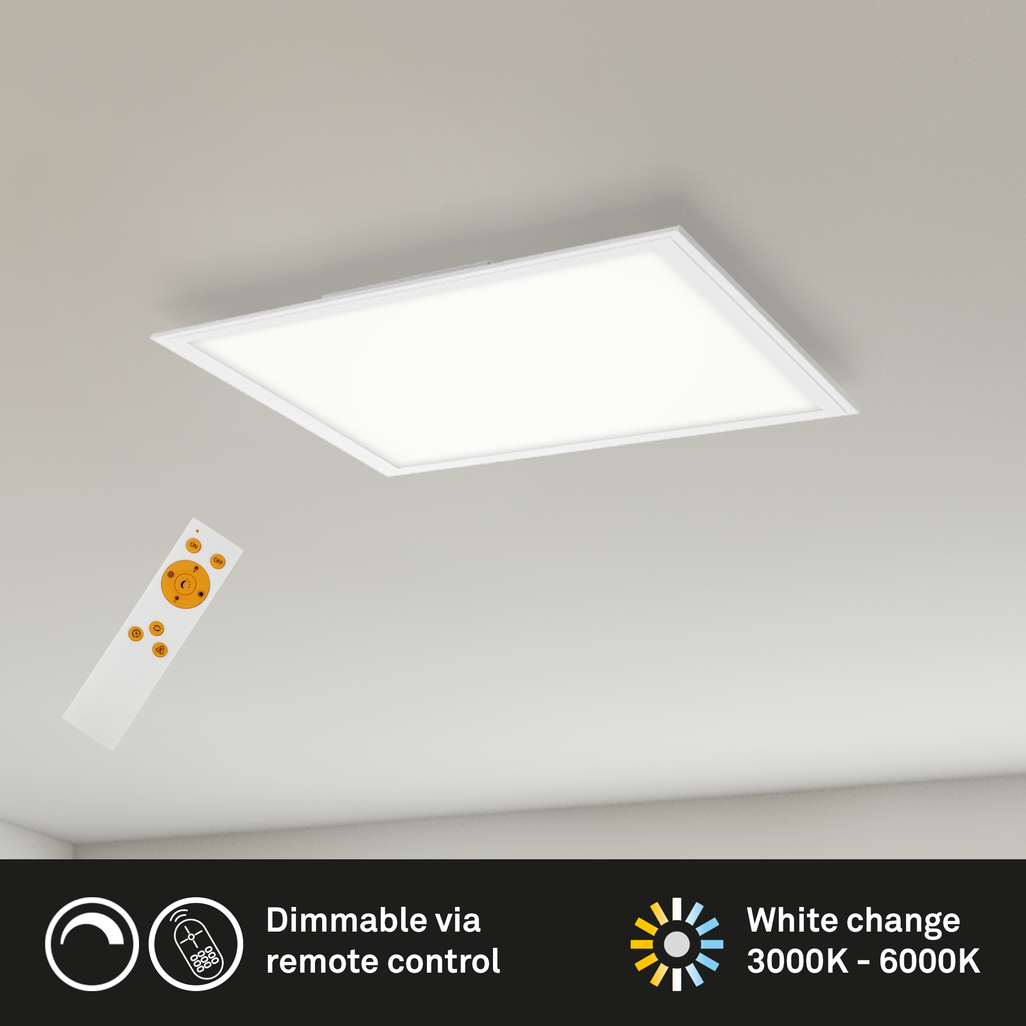 CCT LED Panel Weiß