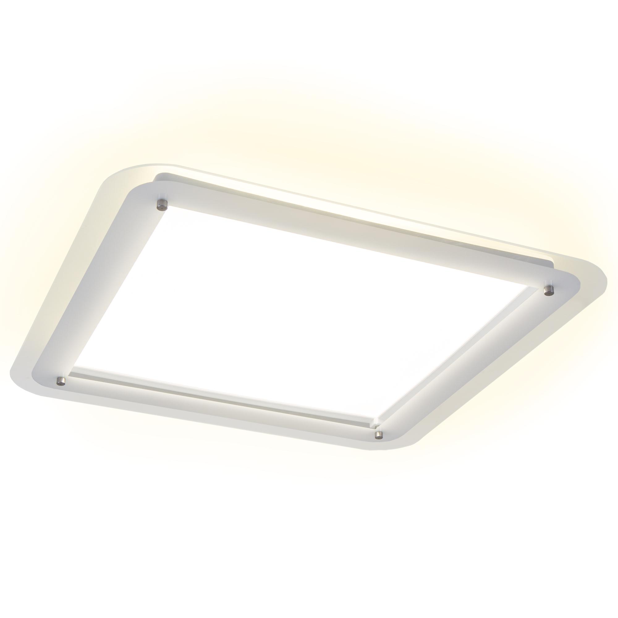 LED Deckenleuchte, 40 cm, 18 W, Weiß