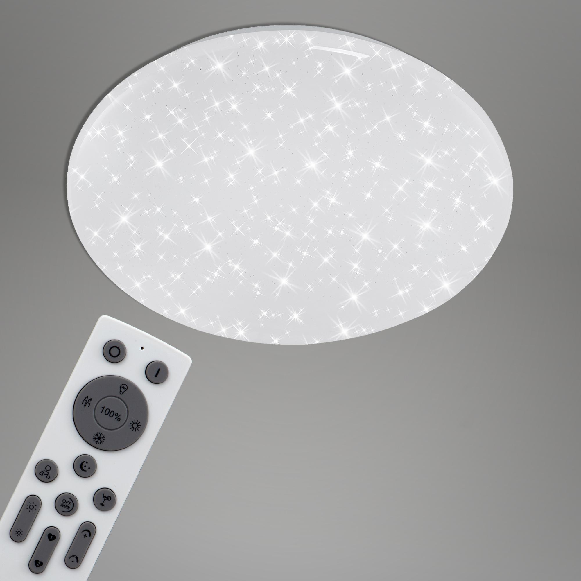 SMART LED Deckenleuchte, Ø 38,5 cm, 24 W, Weiss