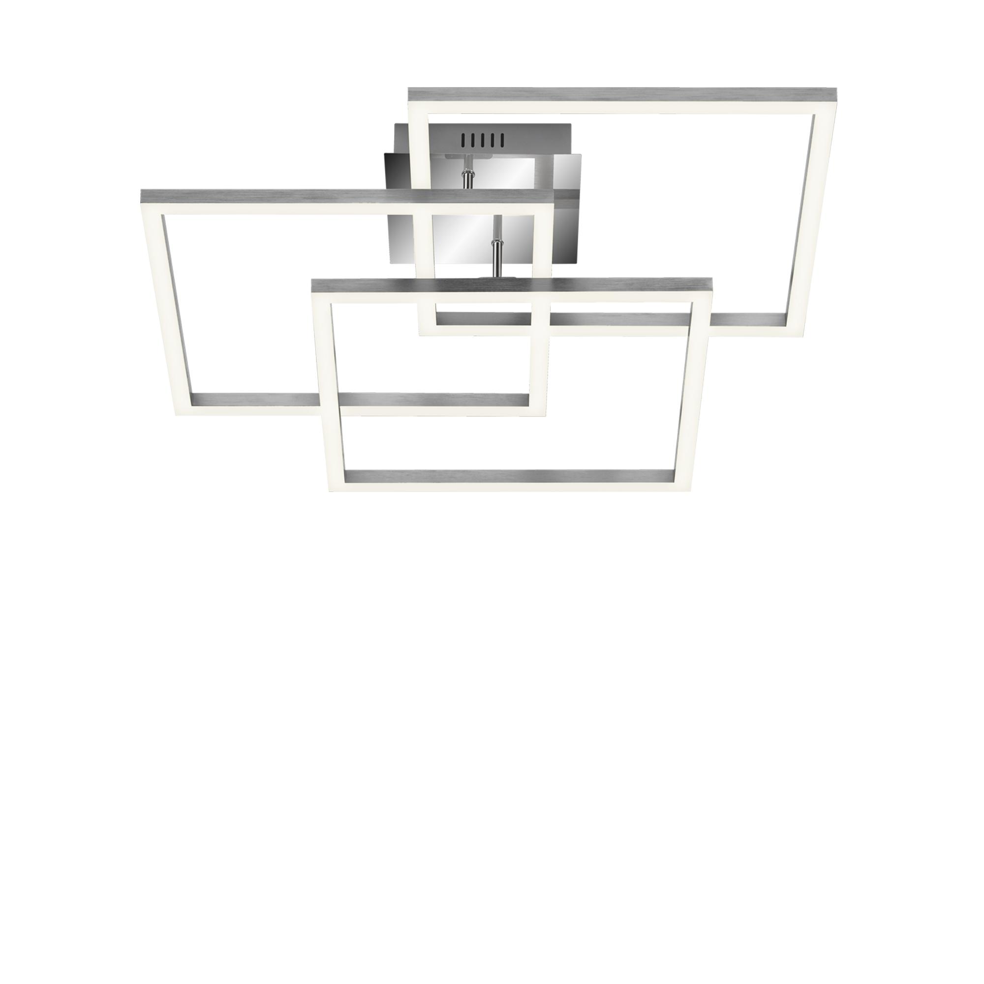 Smart Deckenleuchte, 56,5 cm, 4500 LM, 40 W, Alu