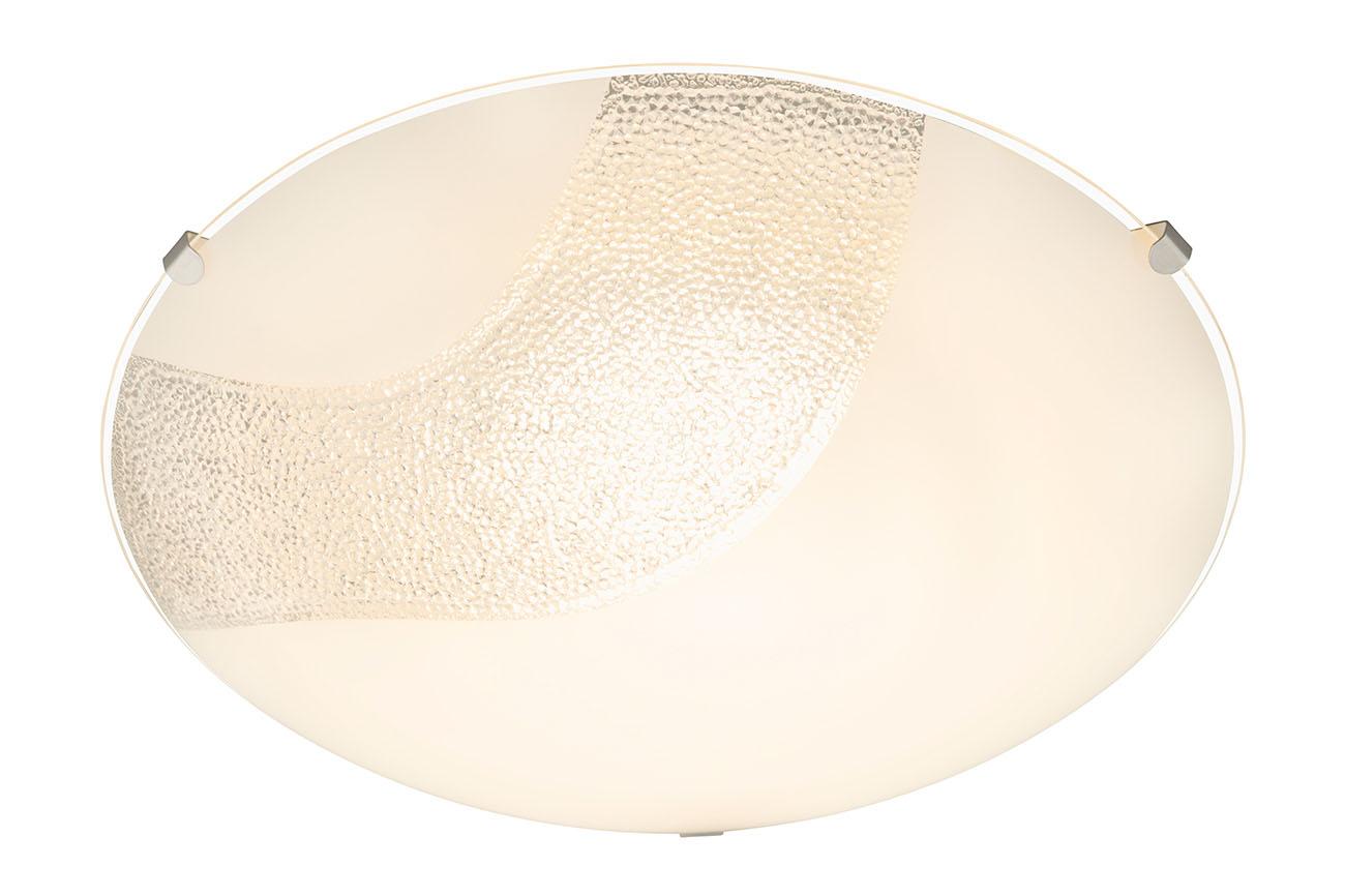 LED Deckenleuchte, Ø 25 cm, 9 W, Weiss