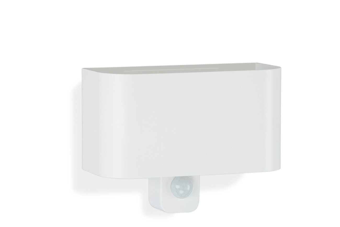 TELEFUNKEN Sensor LED Aussenleuchte, 18 cm, 7 W, Weiss