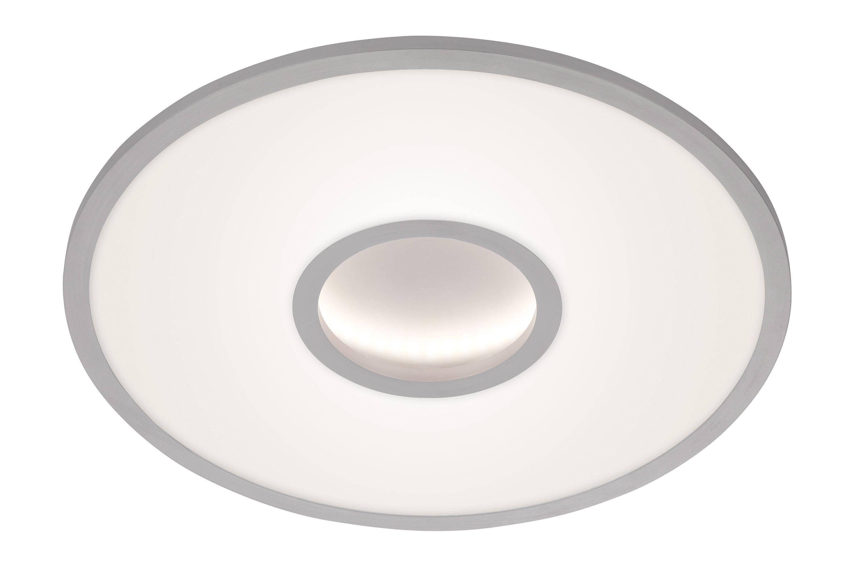 CCT LED Deckenleuchte, Ø 50 cm, 30 W, Chrom-Matt