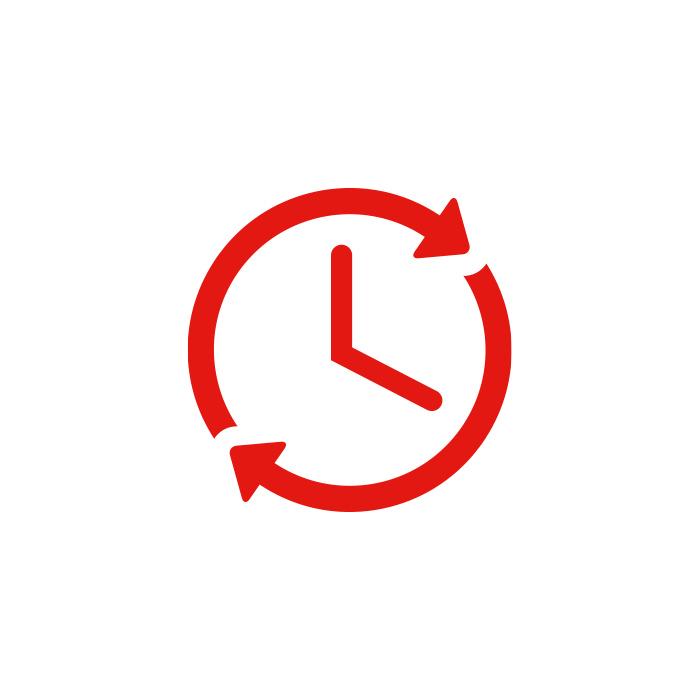 Icon Benefits Arbeitszeit