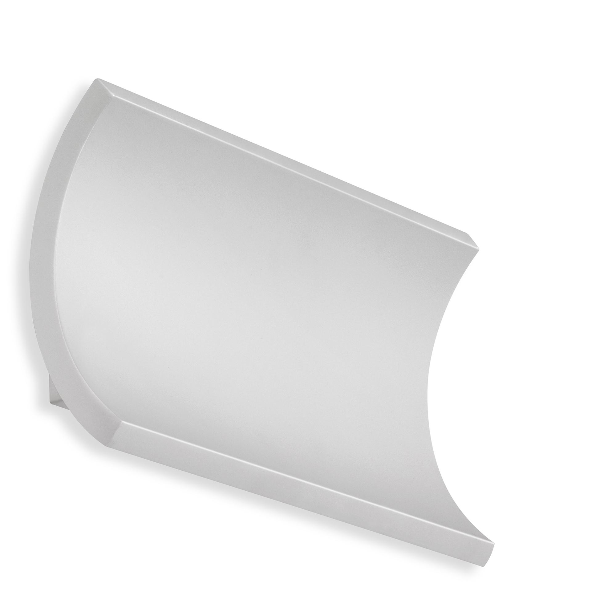 TELEFUNKEN LED Außenwandleuchte, 19,7 cm, 12 W, Silber