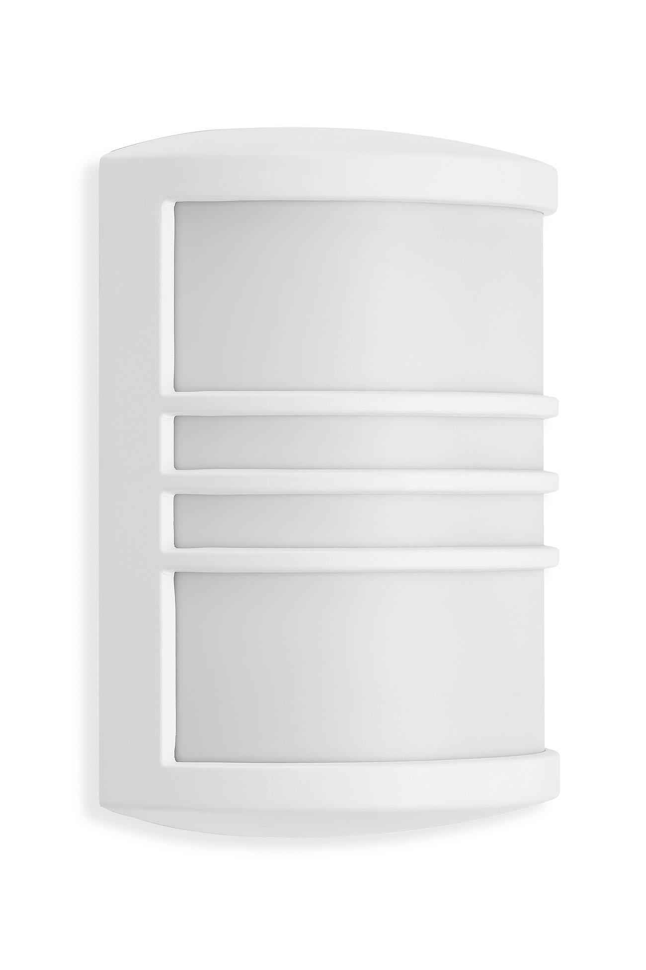 TELEFUNKEN LED Außenwandleuchte, 18 cm, 12 W, Weiß