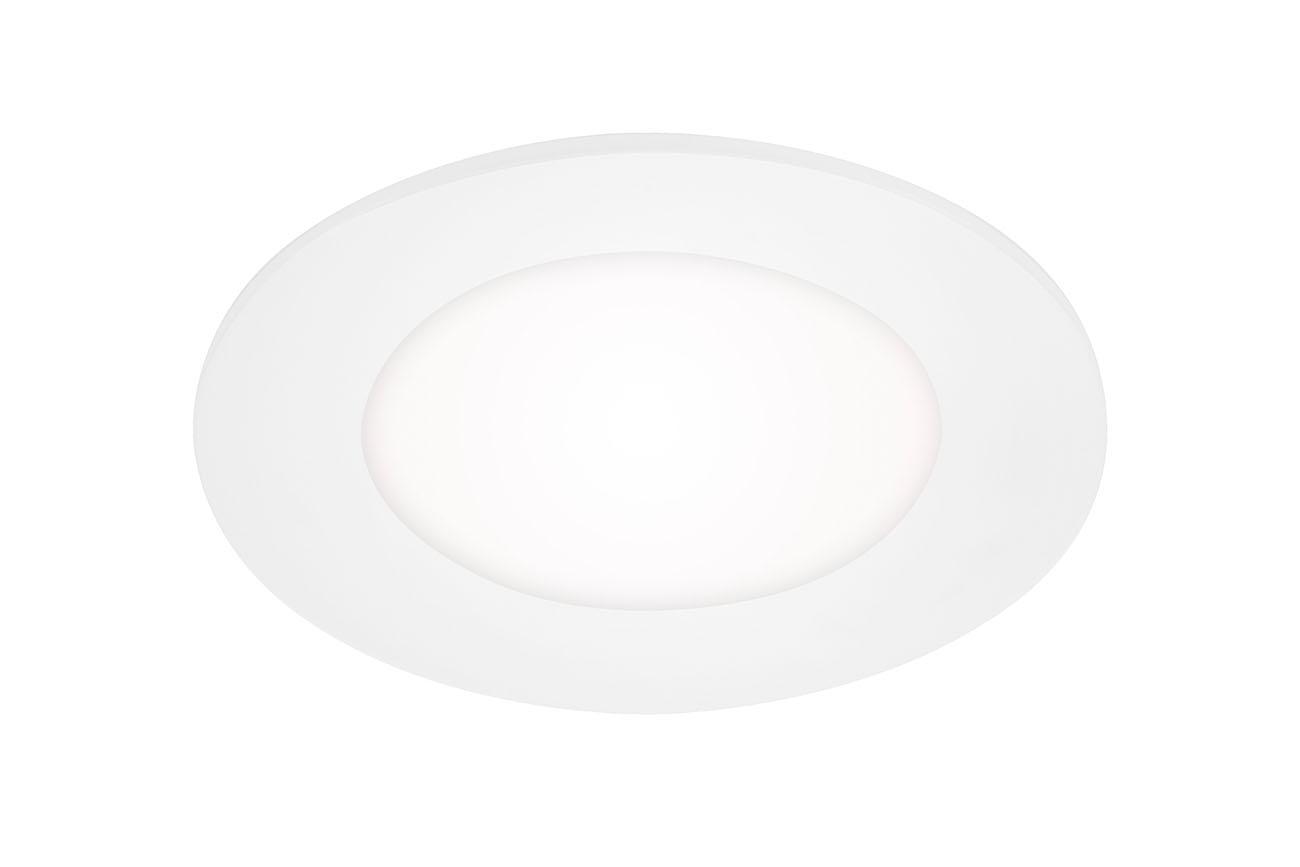 LED Einbauleuchte, Ø 11,4 cm, 6 W, Weiß