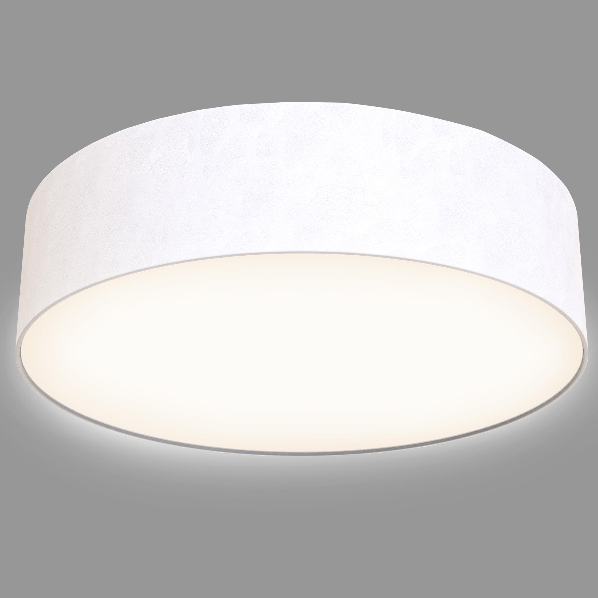 LED Deckenleuchte, Ø 45 cm, 18 W, Weiss