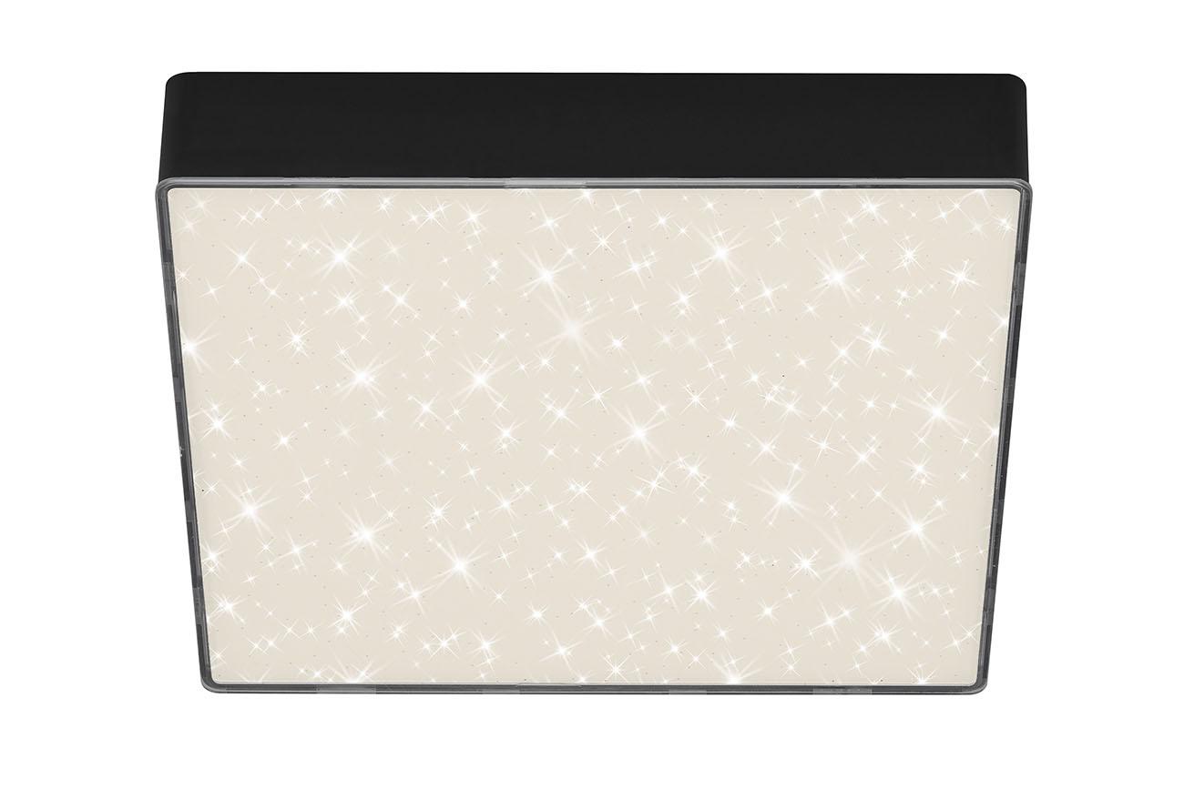 STERNENHIMMEL LED Deckenleuchte, 21,2 cm, 16 W, Schwarz