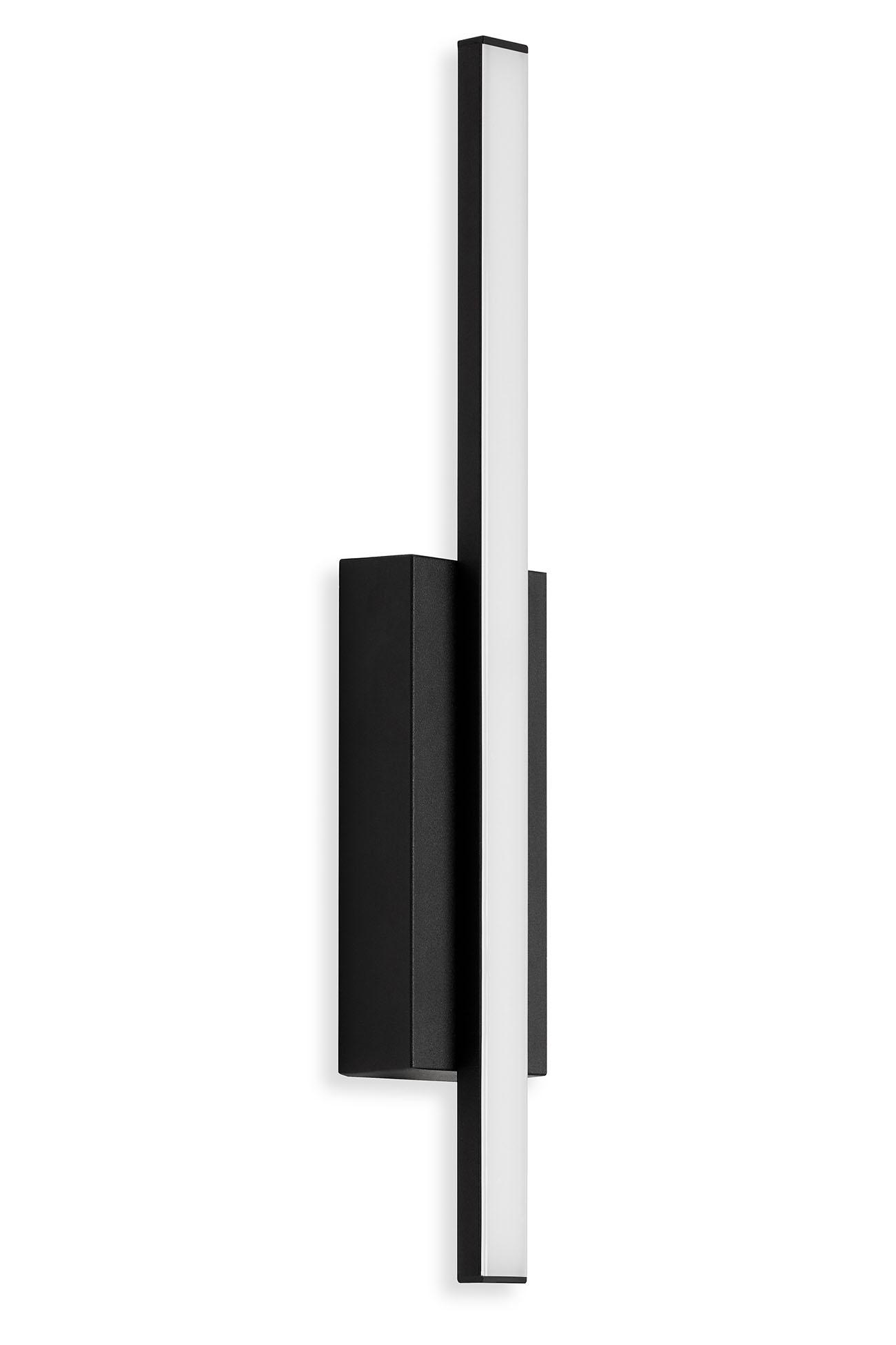 TELEFUNKEN LED Außenwandleuchte, 37 cm, 4 W, Schwarz