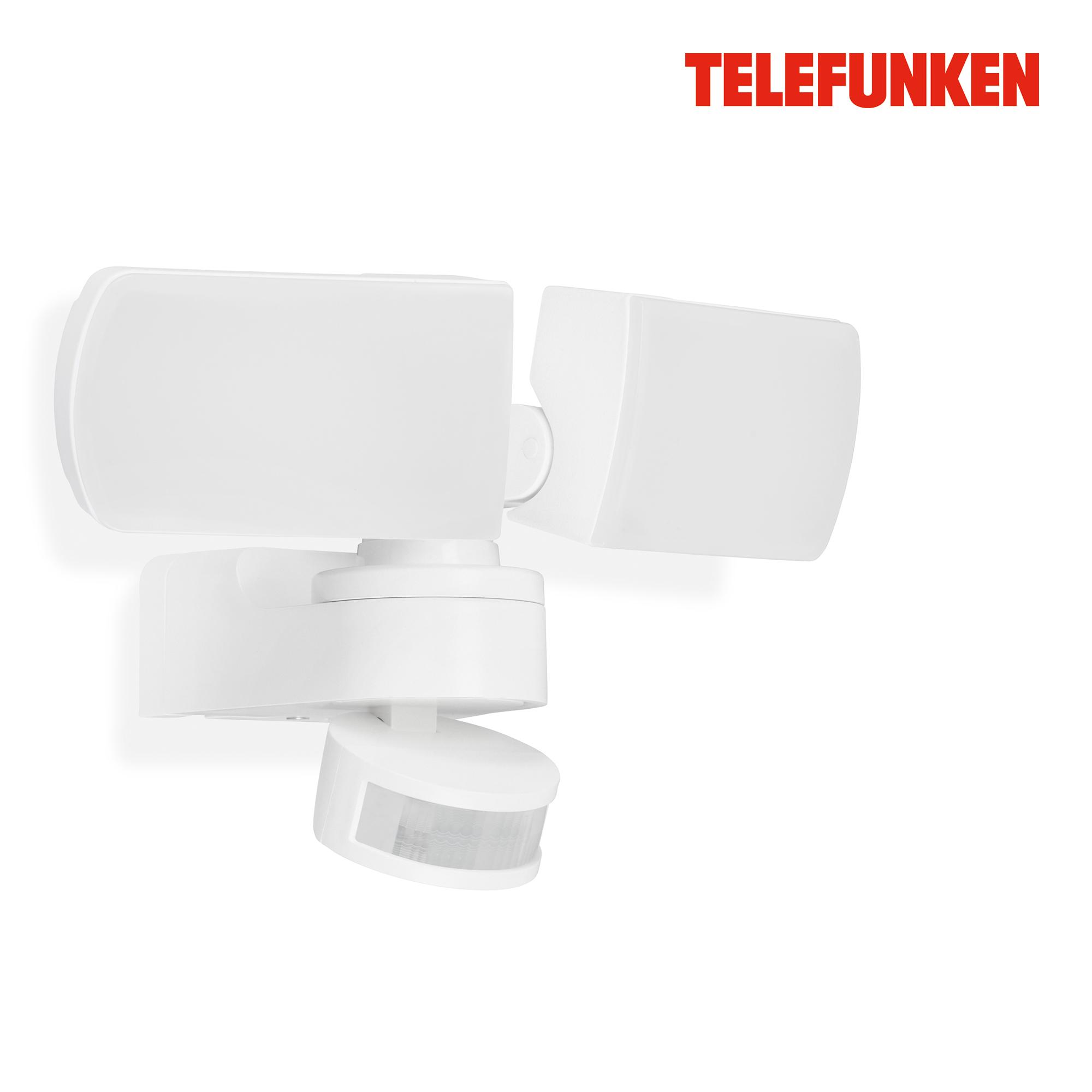 TELEFUNKEN LED Sensor Außenleuchte Weiß