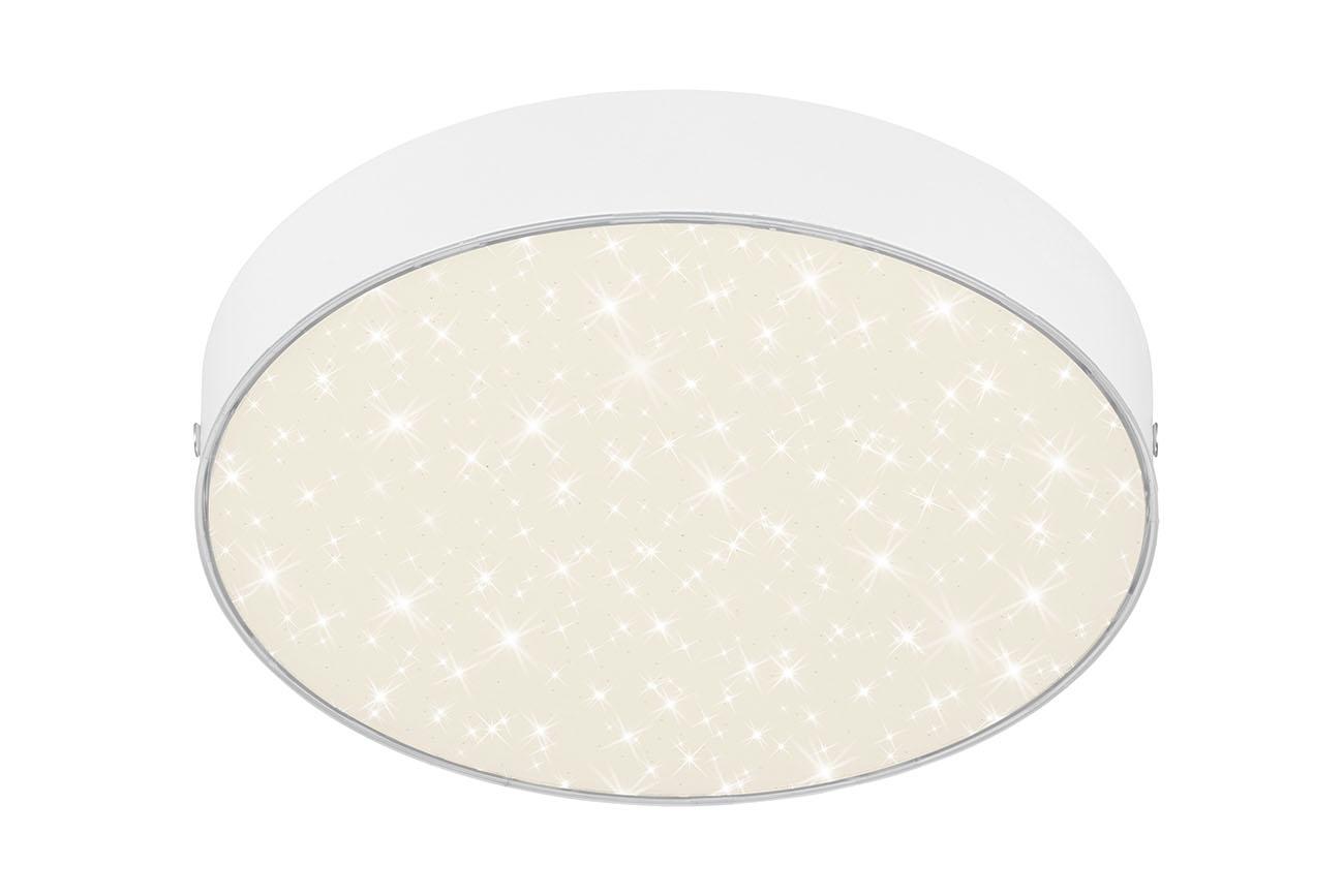 STERNENHIMMEL LED Deckenleuchte, Ø 21,2 cm, 16 W, Weiss