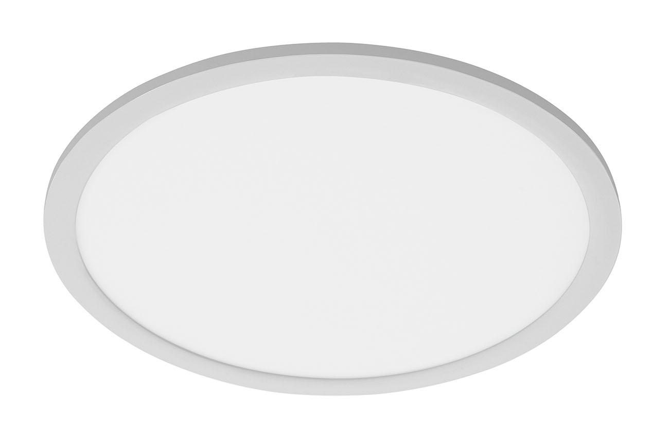 TELEFUNKEN Sensor LED Panel, Ø 40 cm, 30 W, Chrom-Matt-Weiß