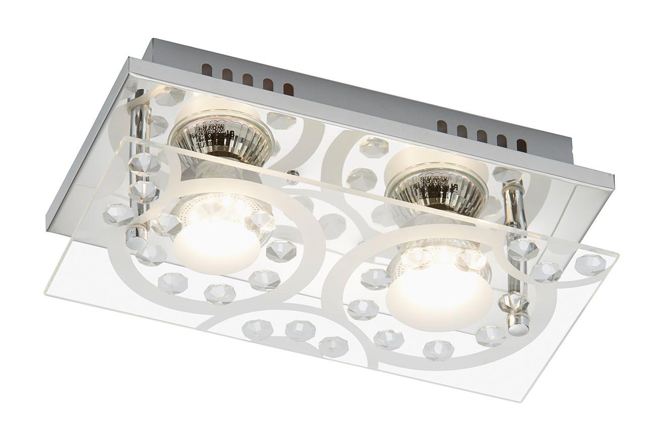 LED Deckenleuchte, 24 cm, 6 W, Chrom