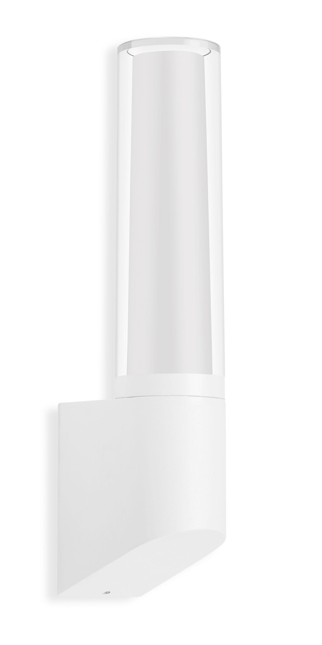 TELEFUNKEN LED Aussenwandleuchte, 33,2 cm, 8 W, Weiss