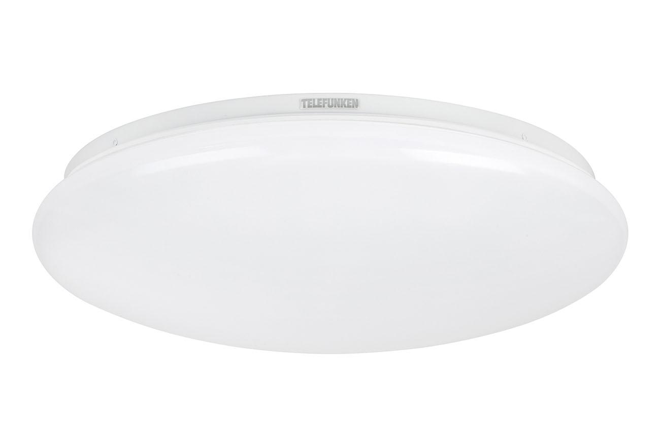 TELEFUNKEN LED Deckenleuchte, Ø 40,2 cm, 20 W, Weiss