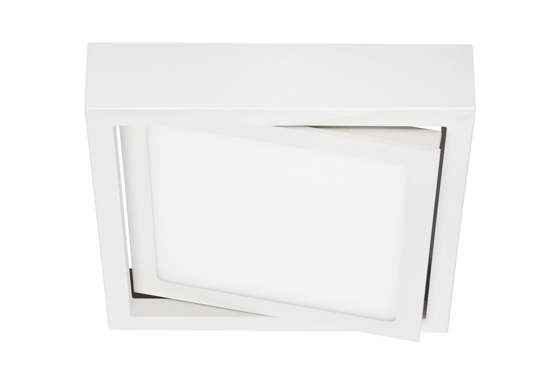 LED Deckenleuchte, 18 cm, 12 W, Weiß