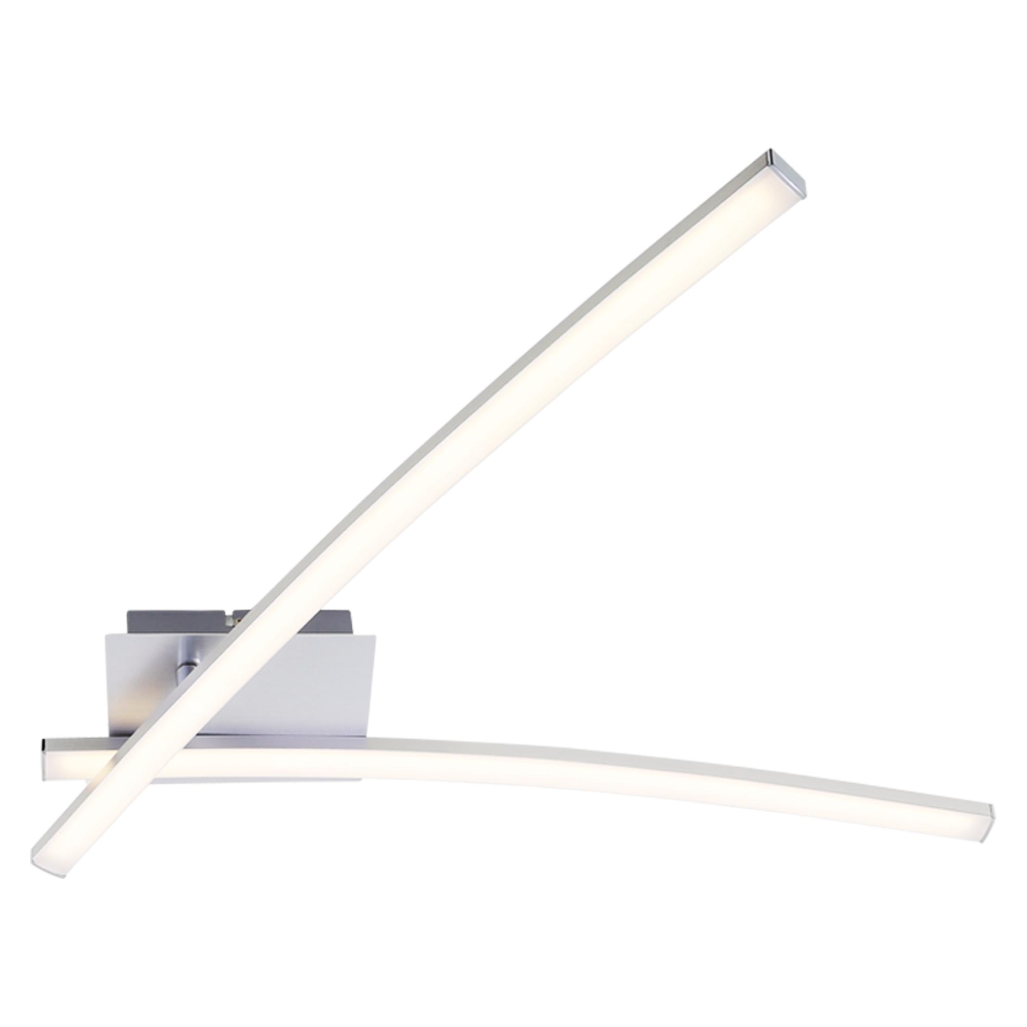 LED Wand- und Deckenleuchte, 78 cm, 18 W, Alu