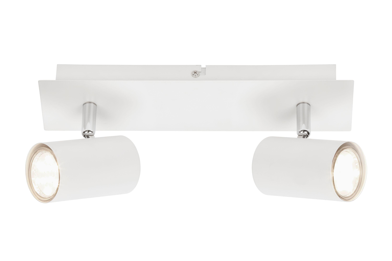 Spot Deckenleuchte, 29 cm, max. 40 W, Weiss