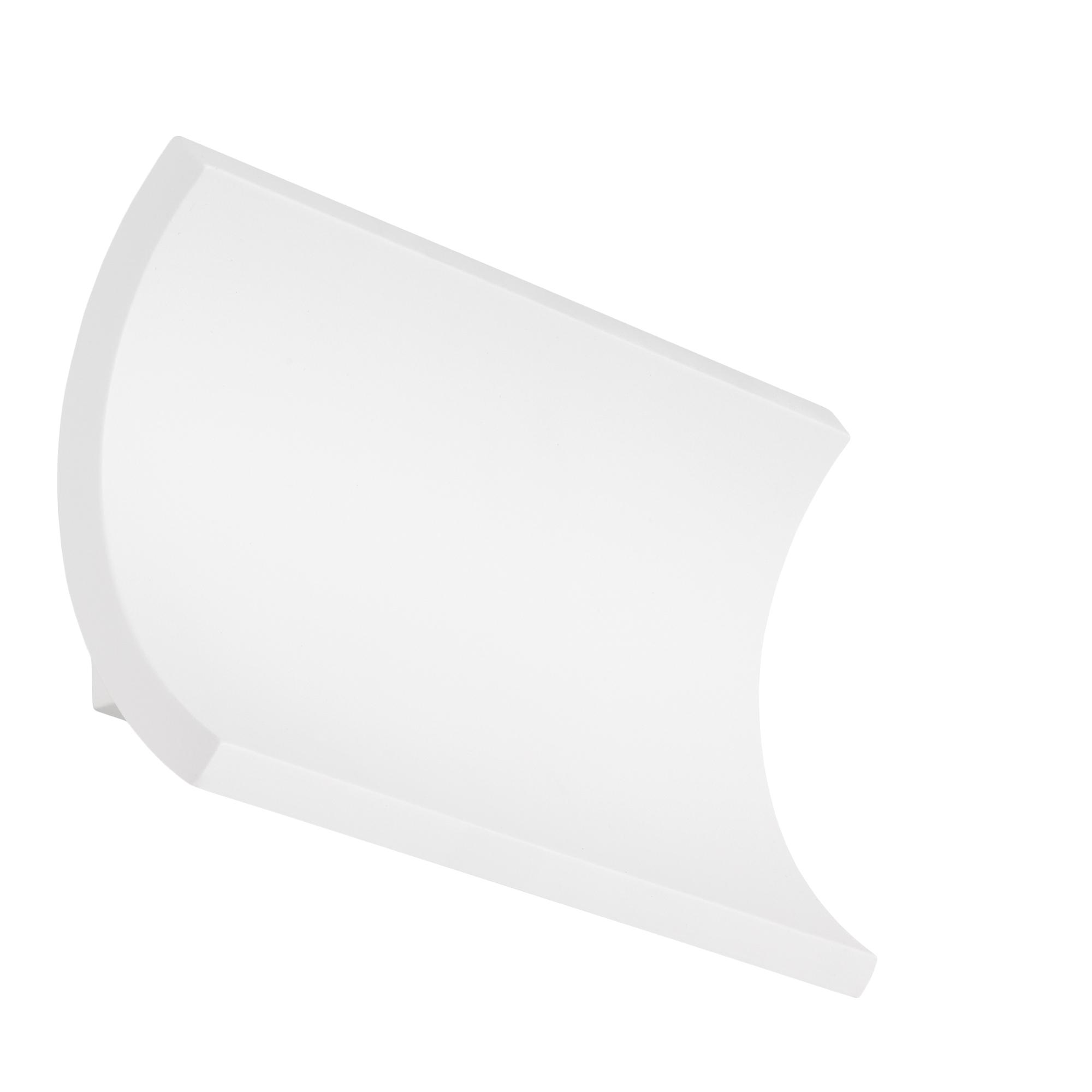 TELEFUNKEN LED Außenwandleuchte, 19,7 cm, 12 W, Weiß