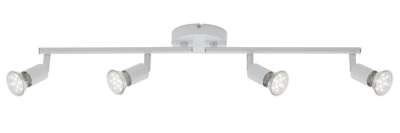 LED Spot Deckenleuchte, 60,5 cm, 12 W, Weiß