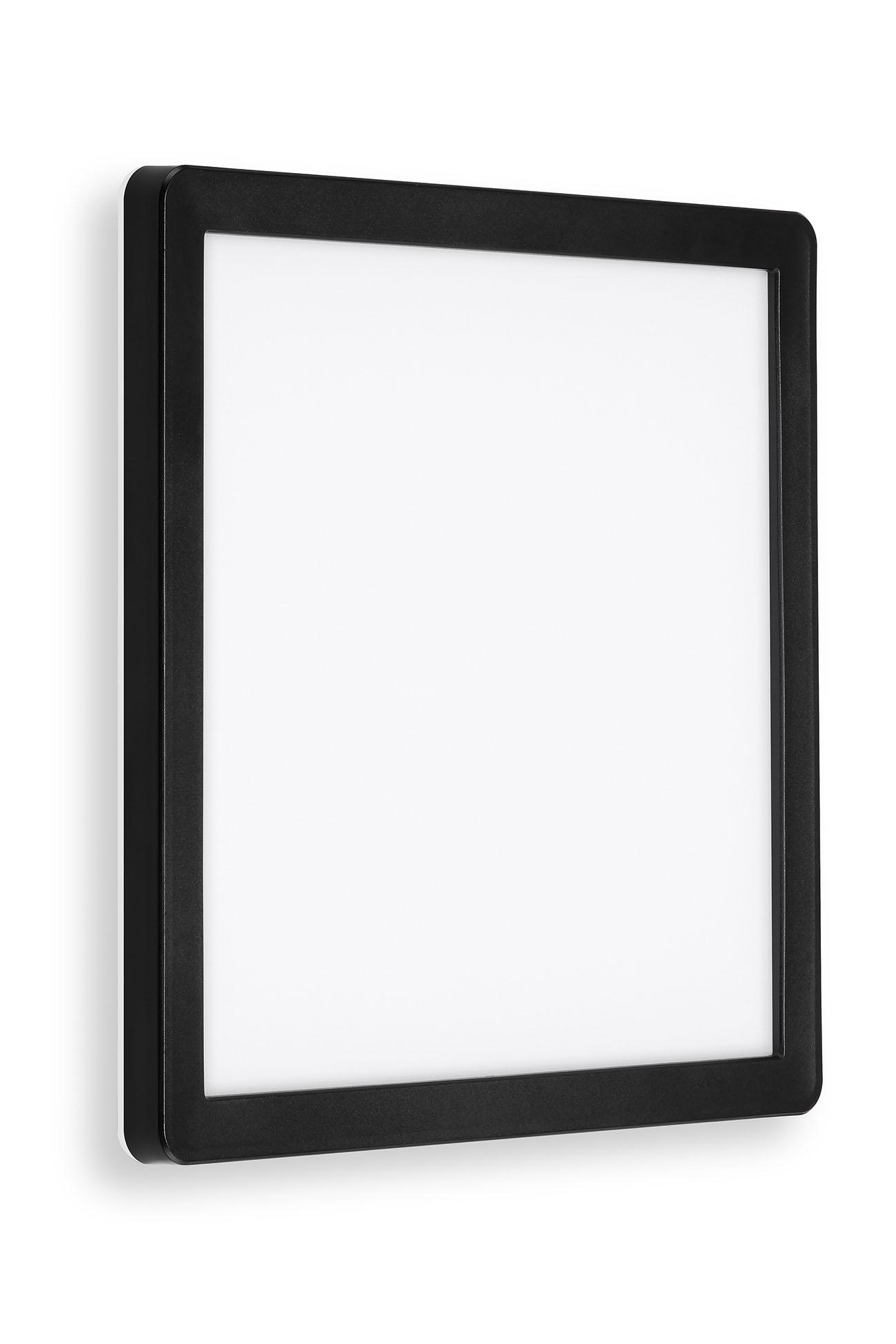 TELEFUNKEN LED Aussenwandleuchte, 25 cm, 15 W, Schwarz