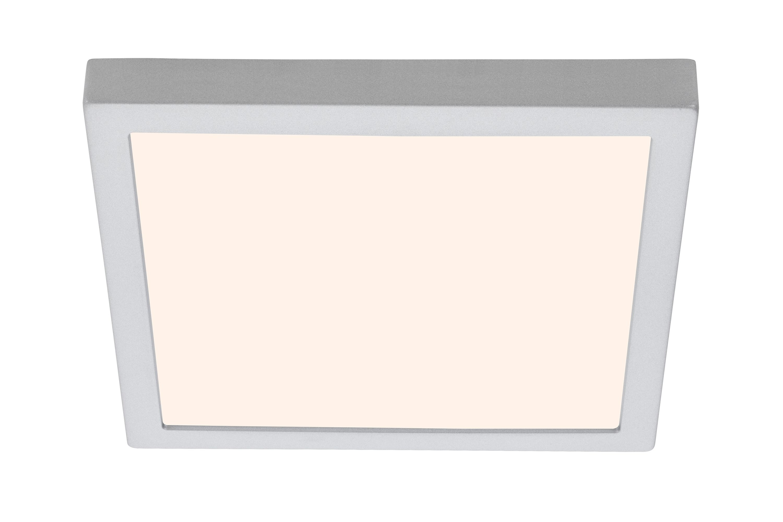 LED Deckenleuchte, 30 cm, 21 W, Chrom-Matt