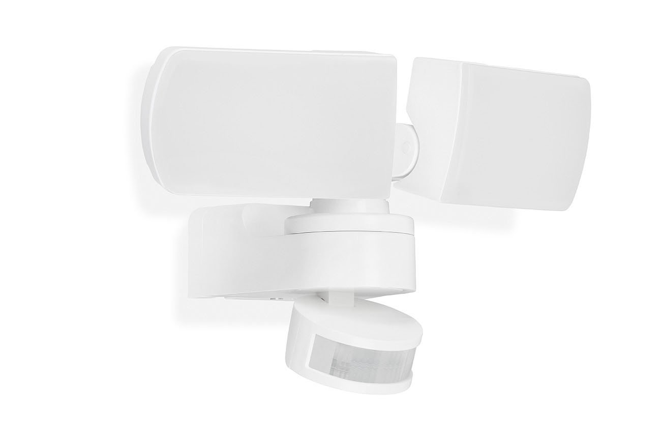 TELEFUNKEN LED Sensor Aussenleuchte, 25 cm, 30 W, Weiss