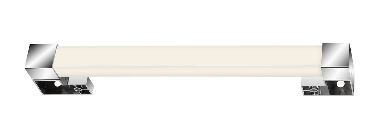 LED Spiegelleuchte, 34 cm, 8 W, Chrom