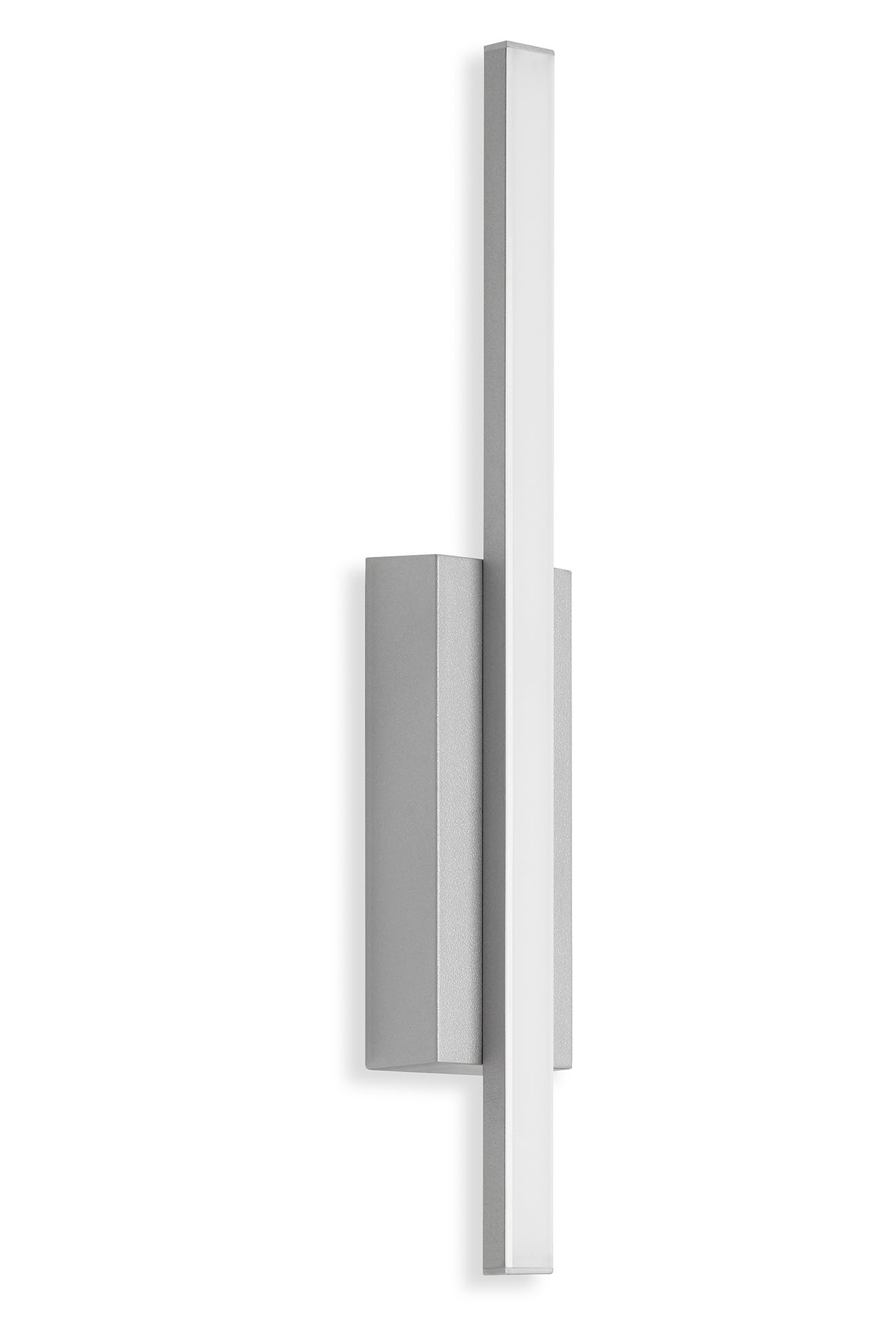 TELEFUNKEN LED Aussenwandleuchte, 37 cm, 4 W, Silber
