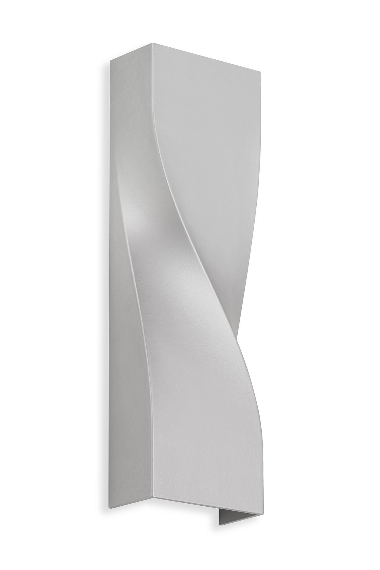 TELEFUNKEN LED Aussenwandleuchte, 26 cm, 12 W, Silber