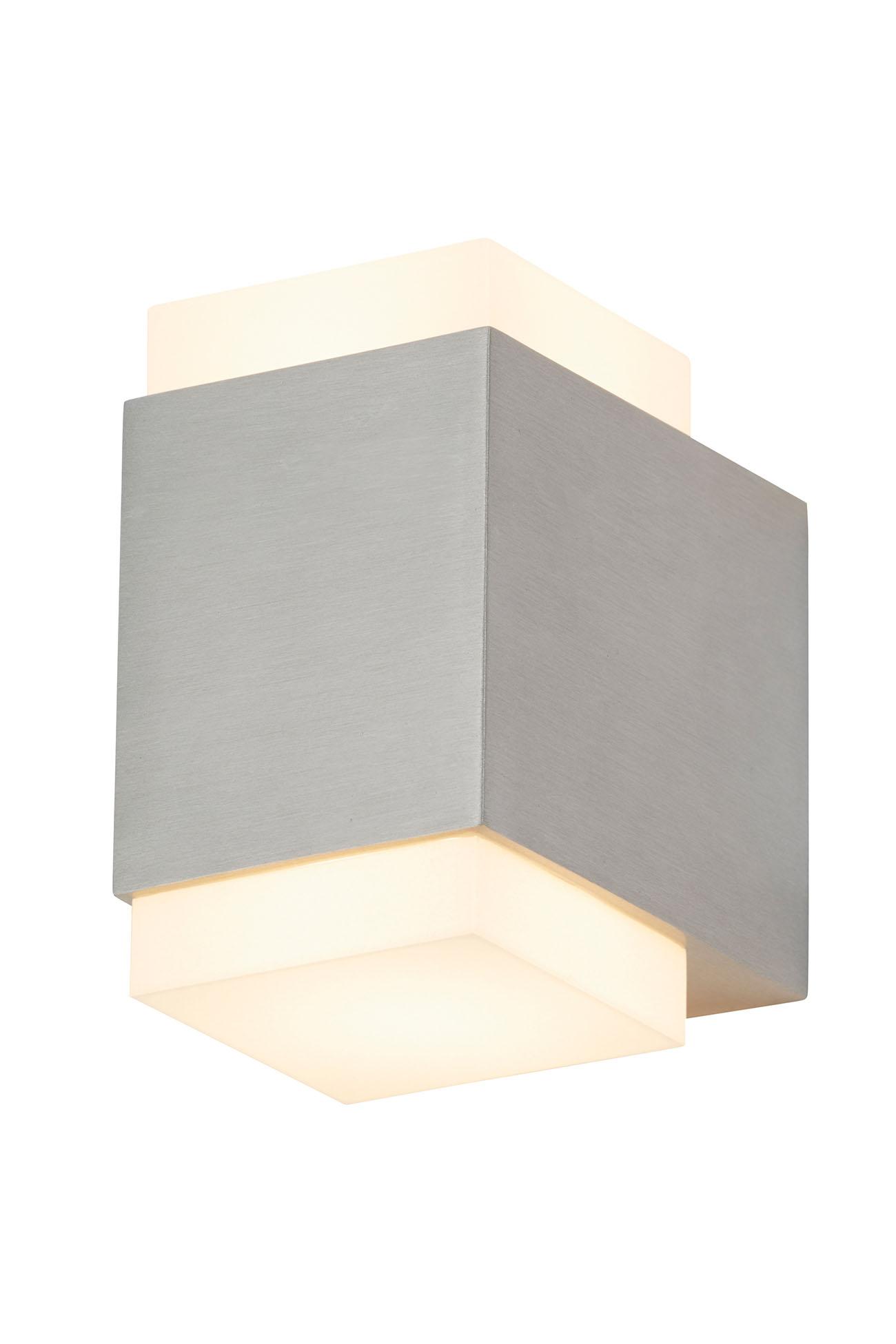 LED Aussenleuchte, 11 cm, 9 W, Edelstahl