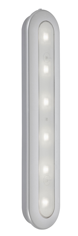LED Push-Light, 30,5 cm, 1,5 W, Silber
