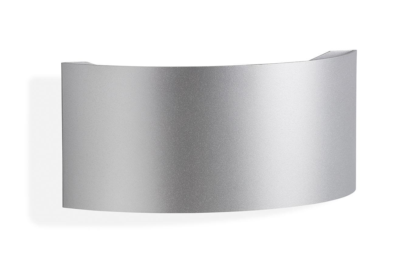 TELEFUNKEN LED Aussenleuchte, 24,5 cm, 8,5 W, Silber