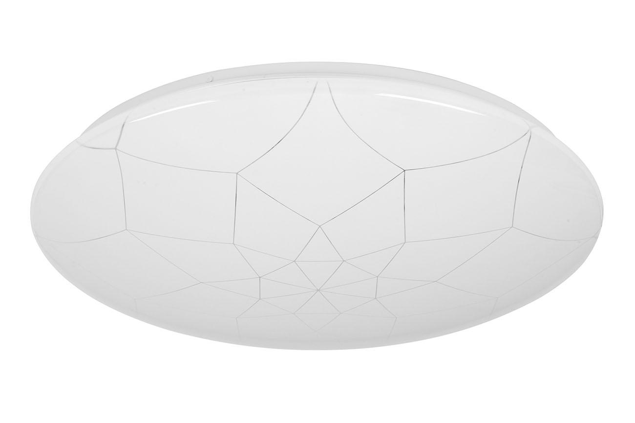 CCT LED Deckenleuchte, Ø 50 cm, 48 W, Weiss