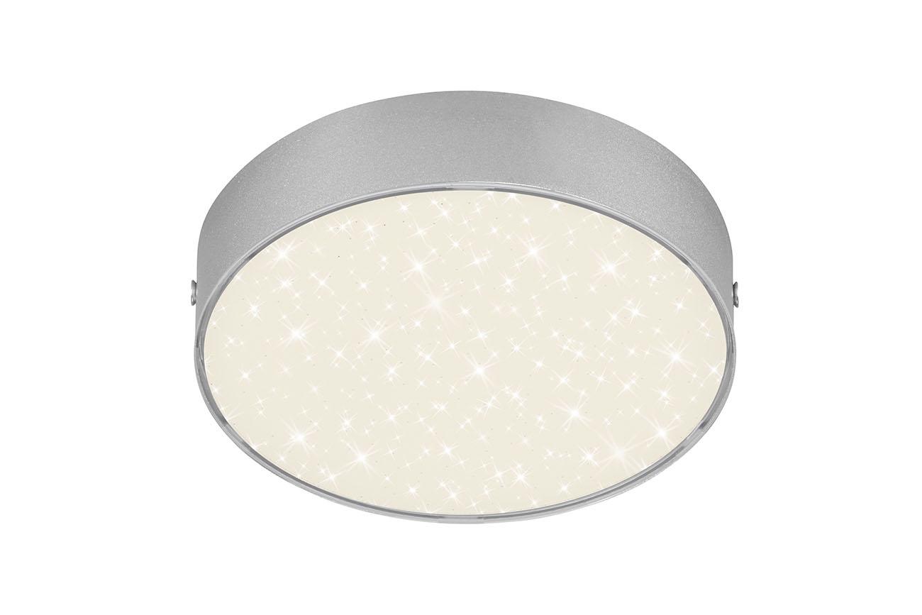 STERNENHIMMEL LED Deckenleuchte, Ø 15,7 cm, 11 W, Silber
