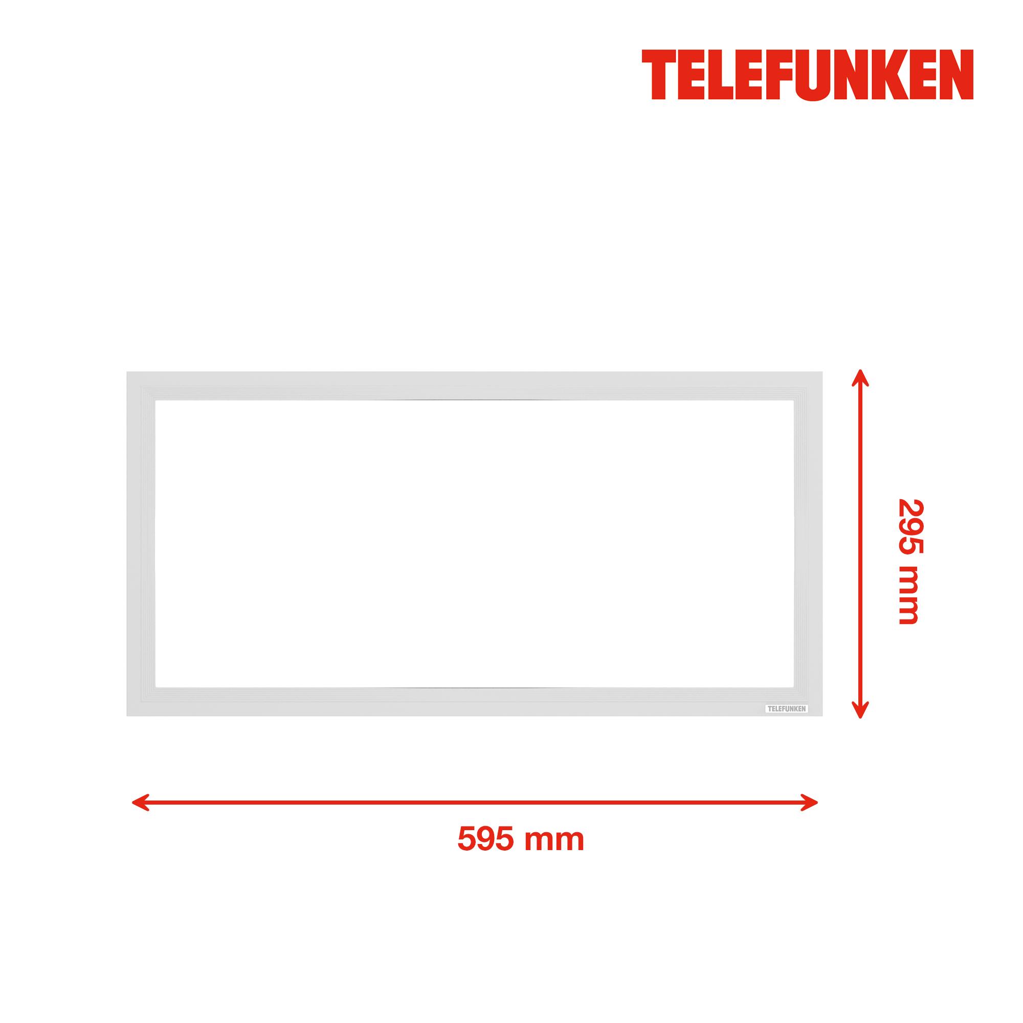 TELEFUNKEN Sensor LED Panel Weiß