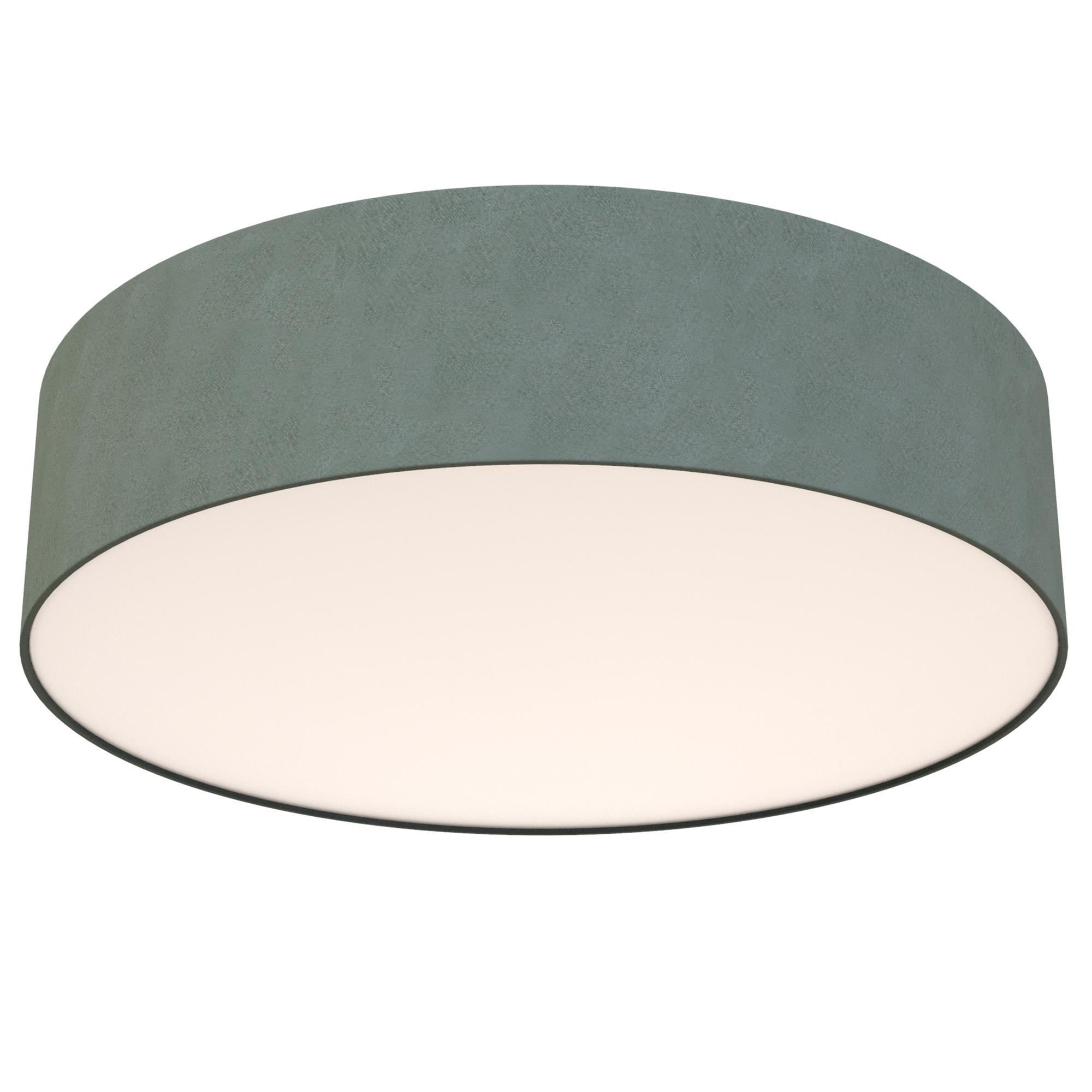 LED Deckenleuchte, Ø 45 cm, 18 W, Grau