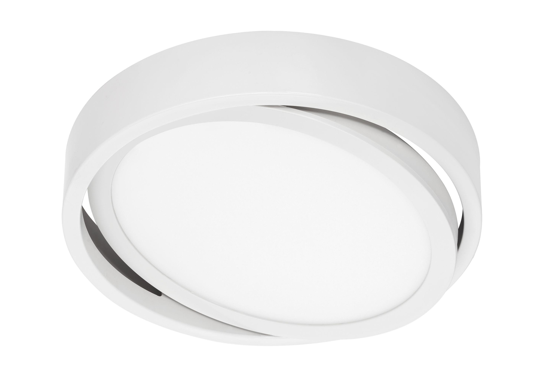 LED Deckenleuchte, Ø 22,5 cm, 16,5 W, Weiß